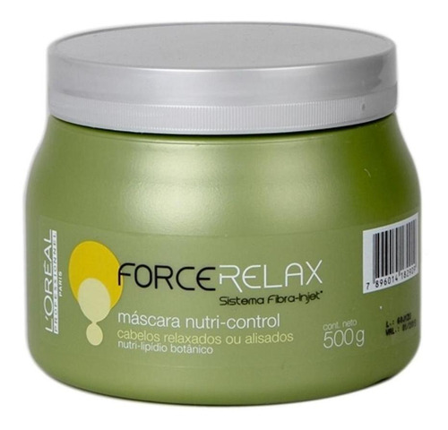Loreal Profissional Mascara Force Relax-500 Gr