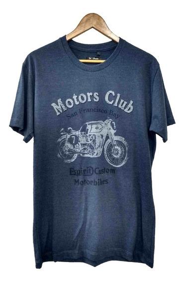 Remera Manga Corta Me Soft Motors Club   Bravo Jeans (28170)