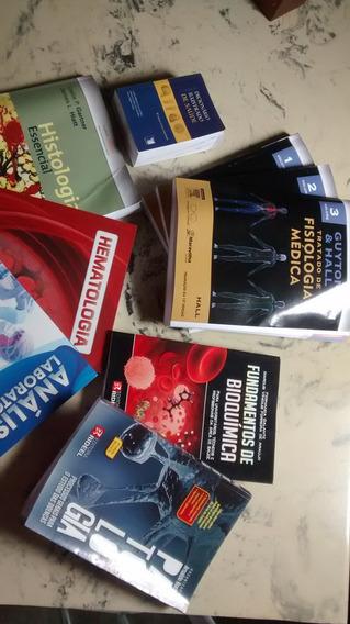 Kit 9 Livros Biomedicina