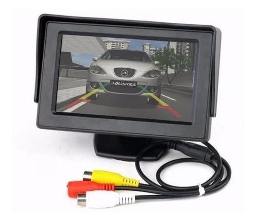 Tela Lcd 4.3 Automotiva P/ Estacionamento Ou Tela De Dvd Ré