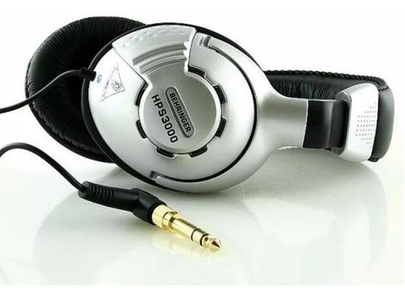 Hps3000 Fone De Ouvido Behringer Hps3000 Para Dj- Studio