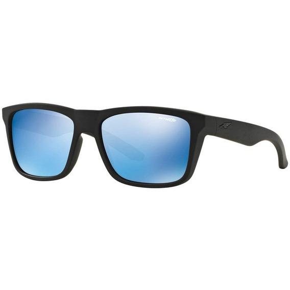 Arnette Syndrome An4217 01/55 57 Preto Fosco/azul Espelhado