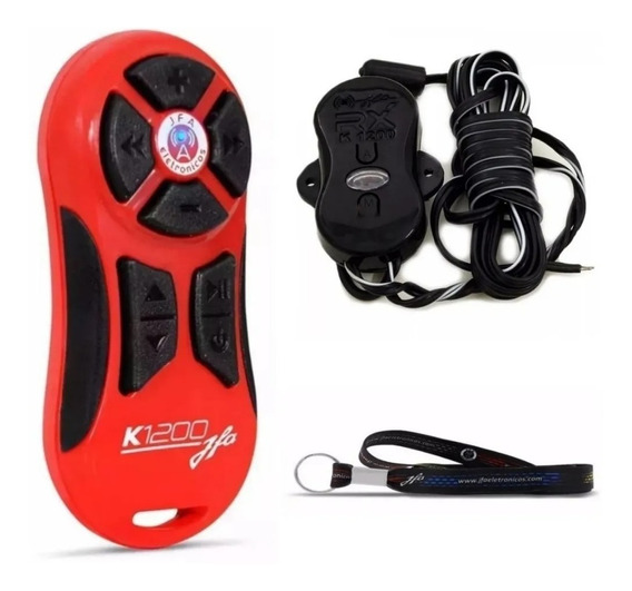 Jfa K1200 - Controle Longa Distancia Vermelho Completo 1200m