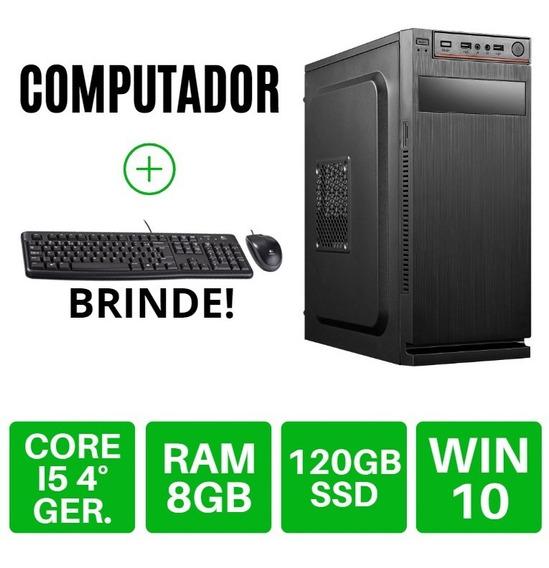 Cpu I5/8gb/ssd Wi-fi Em Ate 12x S/juros Frete Gratis Compre!
