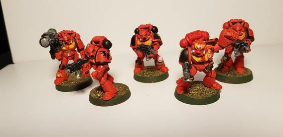 Warhammer 40k Blood Angels Tatical Marines Squad Gw