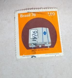 Selo Antigo Metrô De São Paulo