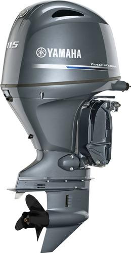 Imagem 1 de 4 de Motor De Popa Yamaha 115hp 4t