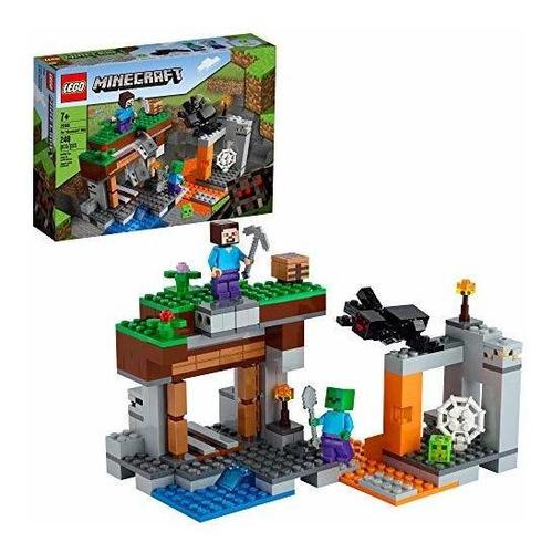 Lego Minecraft La Mina Abandonada 21166 Juego De Batalla De