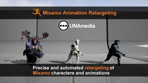 Unreal Engine 4 - Plugin Retargeting Automatico