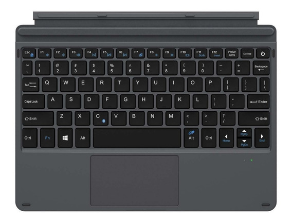 Teclado Bluetooth Trackpad P/ Microsoft Surface Go 10