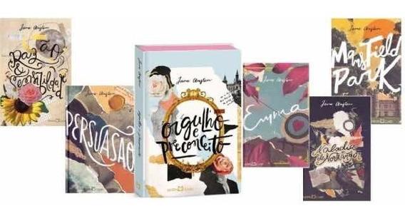 Orgulho E Preconceito Jane Austen+emma+4livros Frete Grátis