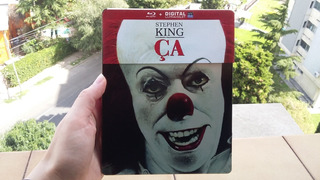 Blu-ray It - Eso (1990) - Stephen King-steelbook Ed Francesa