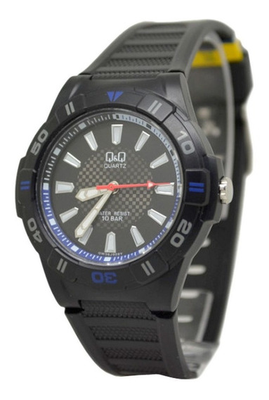 Relógio Mariner Q&q Maq Citizen Wr100 42mm Gw36j009y Mascul