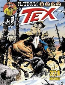 Revista Hq Gibi - Tex Platinum 11 - Nas Trilhas Do Oeste