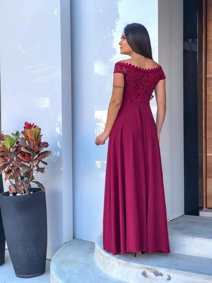 Vestidos De Festa Longos Feminino Festas Marsala Fashion