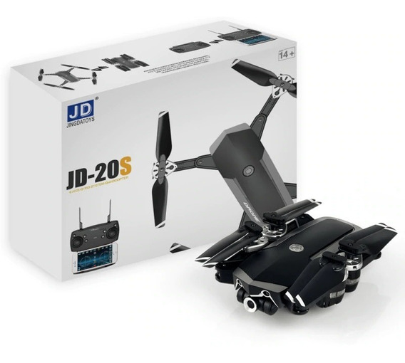 Drone-jd20s - Câmera Hd-2mp-fpv-18 Minutos De Vôo 1 Baterias
