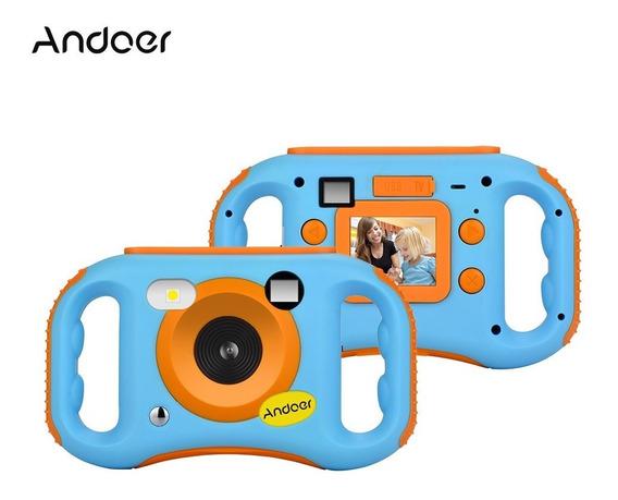 Andoer Cde7 Wifi Crianças Câmera Criativa 5mp
