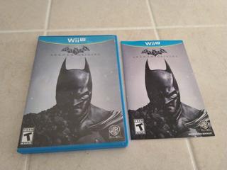 Batman Arkham Origins   Wii U   Con Manual