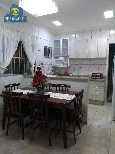 Casa À Venda, 135 M² Por R$ 475.000,00 - Vila Assunção - Santo André/sp - Ca0567