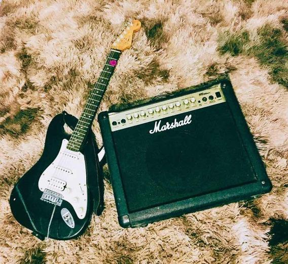 Vendo Combo Guitarra Squier + Amp Marshall