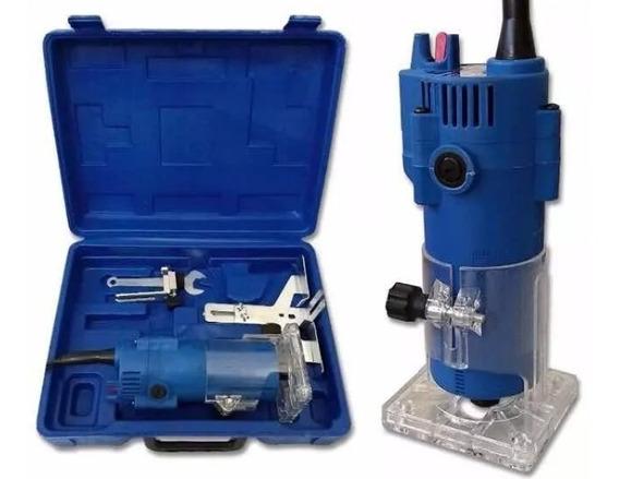 Tupia Fresa Manual 6mm 650 Watts-30.000 Rpm 110v Pronta Etg