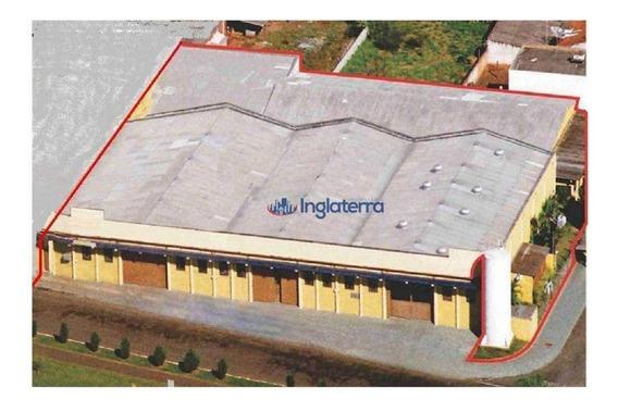 Barracão À Venda, 2145 M² Por R$ 3.460.000 - Jardim Riviera - Cambé/pr - Ba0033