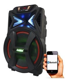 Caixa Som Bluetooth Churrasco Festa 500w Rms Amvox