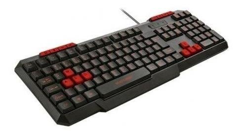 Teclado Gamer Multilaser Tc242 Multimídia Slim