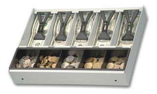 Cajon Lipari 5 Divisiones Moneda Billete Ideal Para Colocar Dentro Gavetas Y Registradoras