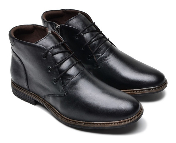 Bota Sapato Masculino Lançamento 2020 Couro Legitimo Oferta