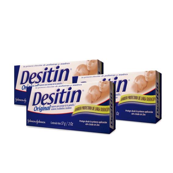 Crema Pañal Desitin® Original 3 Unidades