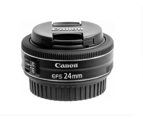 Imagem 1 de 4 de Lente Canon Ef-s 24mm F/2.8 Stm Pronta Entrega