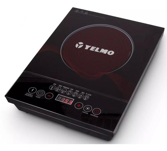 Anafe Elec Vitroceramico 1 Horn Yelmo An9901 Tactil