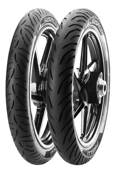 Par Pneu Pirelli 275-18 + 100/90-18 Super City Titan Fan 160