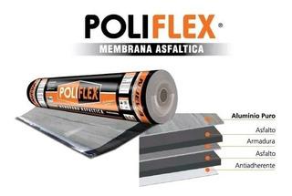 Membrana De 4mm C/aluminio Rollo 42kg