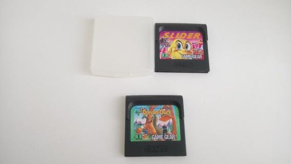 2 Jogos De Game Gear Slider E Donald Duck