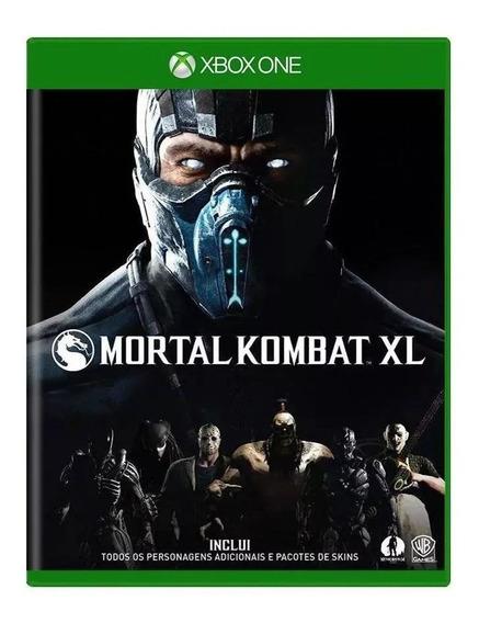 Mortal Kombat Xl Xbox One Mídia Física Nacional Lacrado Rj