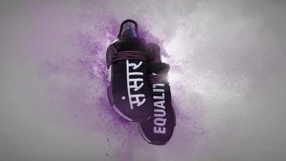 Tênis adidas Nmd Hu X Pharrell Williams Equality