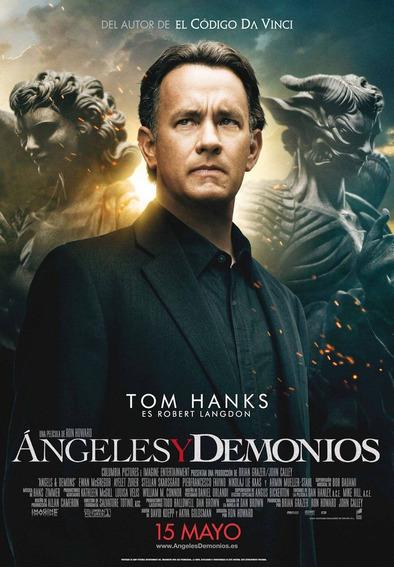 Poster Original Cine Angeles Y Demonios
