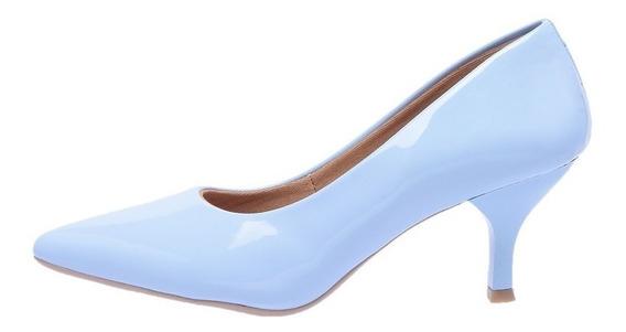 Sapato Feminino Scarpin Salto Baixo - Coleção 2019