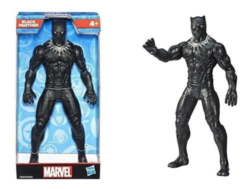 Imagem 1 de 6 de Boneco Pantera Negra 24 Cm Avengers Marvel E5581 - Hasbro