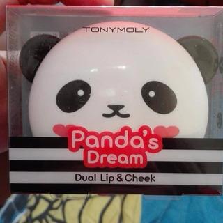 Tonymoly Pandas Dream Dual Lip & Cheek