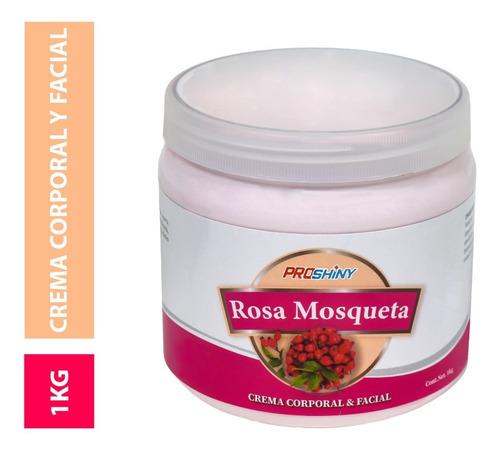 Imagen 1 de 8 de Crema Corps Facial Arrugas Estrias Rosa Mosqueta 1kg /p