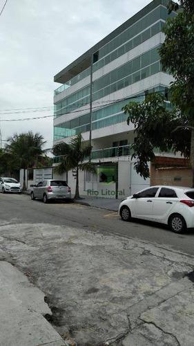 Belíssimo Apartamento Com 3 Dormitórios Sendo 1 Suíte No Bairro Recreio - Rio Das Ostras/rj - Ap0489