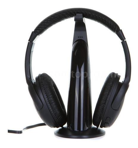 Audifonos Inalambricos 5en1 Para Mp3/mp4 Pc Tv Cd Fm Radio
