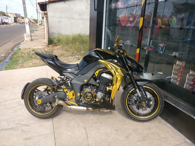 Kawasaki Z1000 2014/2015 Laranja - Preto