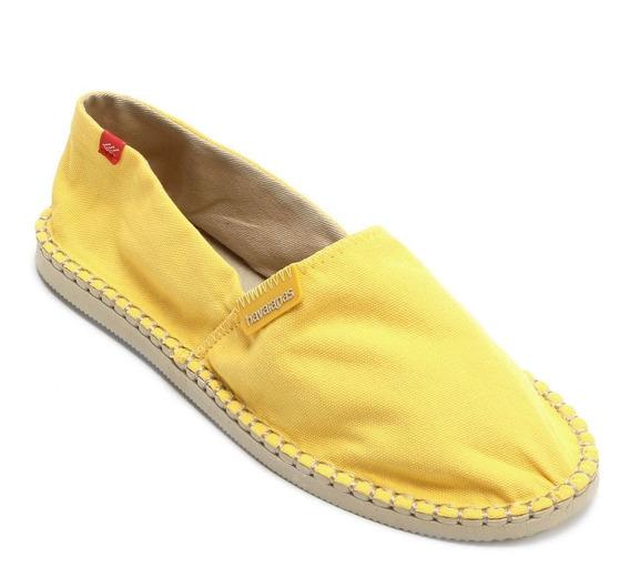 Alpargata Original Havaianas Amarelo Claro Melhor Preço