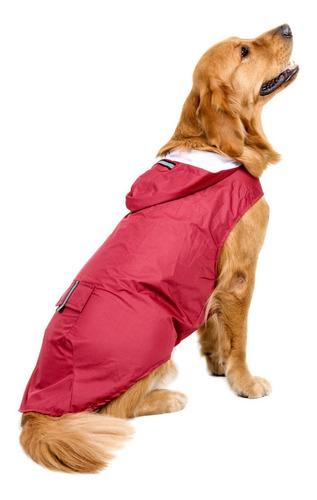 Imagen 1 de 6 de 6xl Reflexivo Mascotas Perro Lluvia Capa Impermeable Ropa Ro