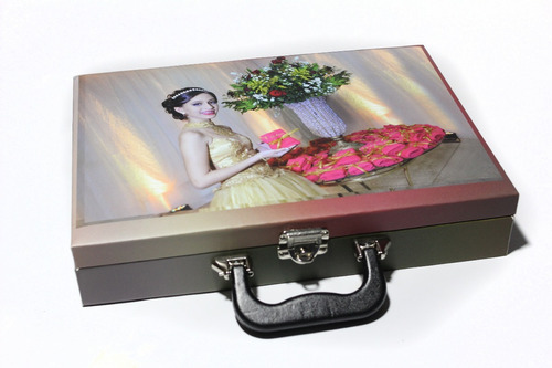 Maleta Fotográfica Personalizada Para Álbum 20x30