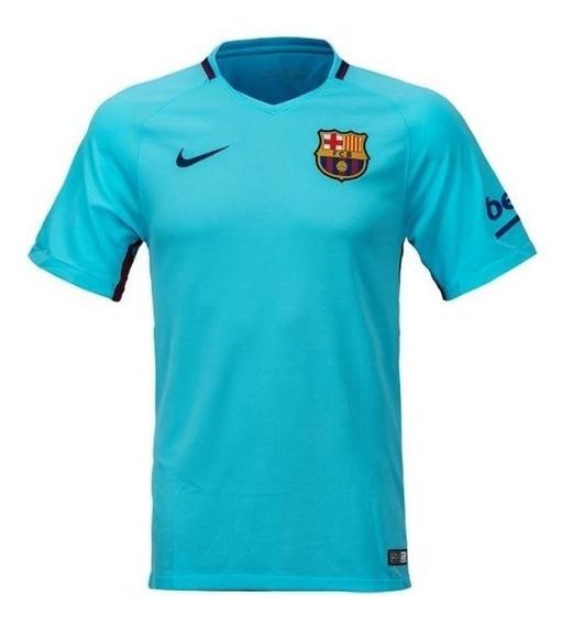 Camisa Nike Barcelona Ii 2017/2018 - Infantil